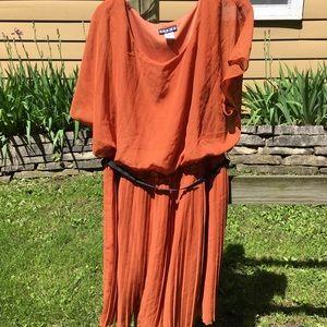 Paperdoll Plus Size Dress Pleated Bottom Size 3X